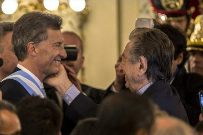 Mauricio Macri Franco Macri