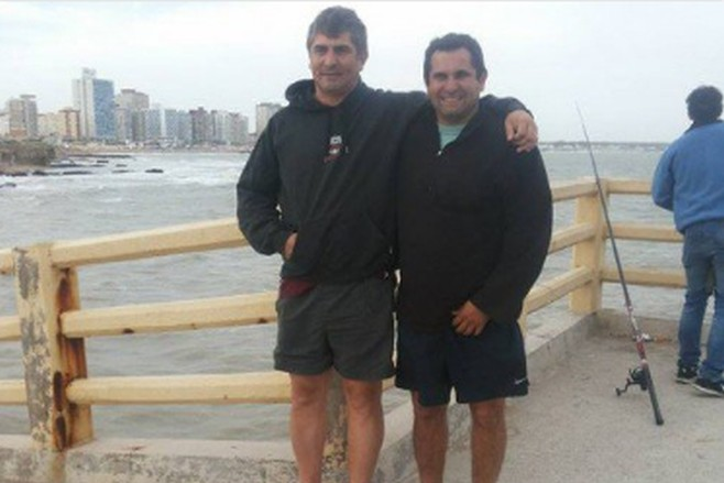 Resultado de imagen para Claudio Rodriguez, hermano del maquinista Hernán Rodriguez