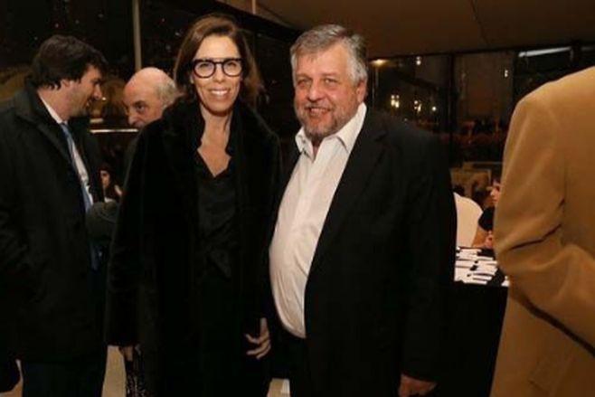 Laura Alonso y Carlos Stornelli