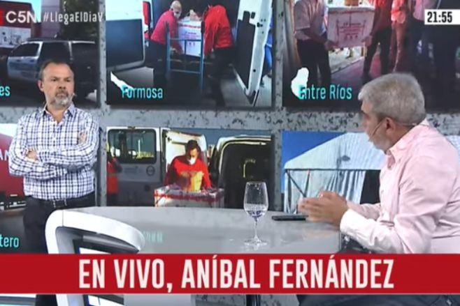 Minuto Uno: La entrevista a Aníbal Fernández (parte 2)