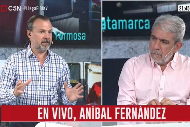 Minuto Uno: Entrevista a Aníbal Fernández