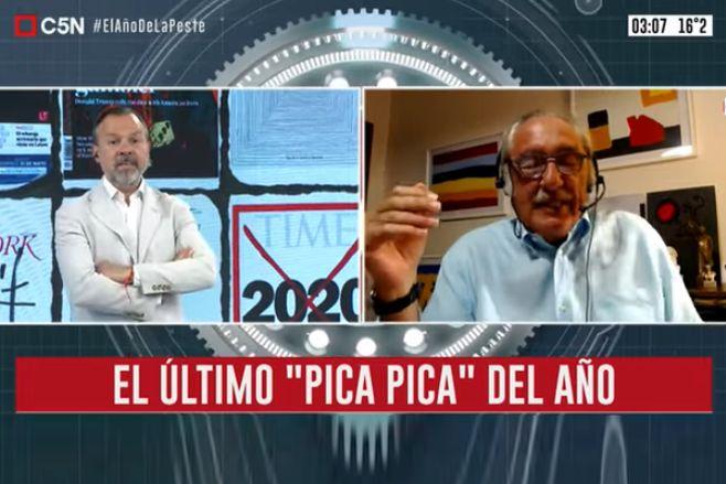 """Minuto Uno: El último """"Pica Pica"""" del 2020 con Raúl Timerman"""