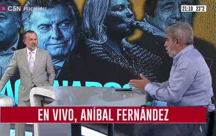 Minuto Uno: La entrevista a Aníbal Fernández