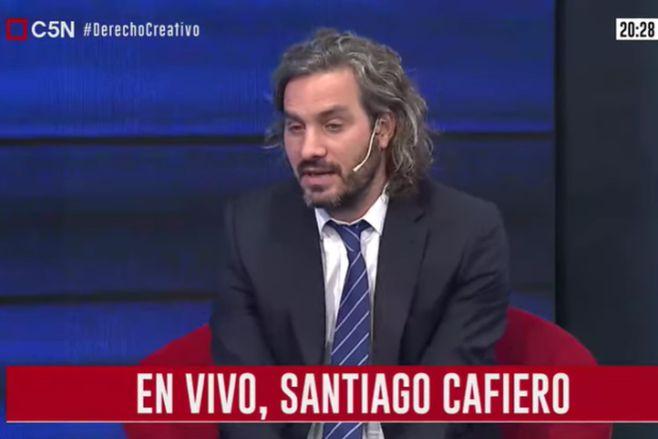 Minuto Uno: La entrevista a Santiago Cafiero (parte 1)