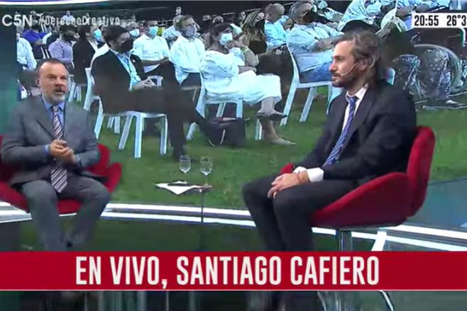 Minuto Uno: La entrevista a Santiago Cafiero (parte 2)