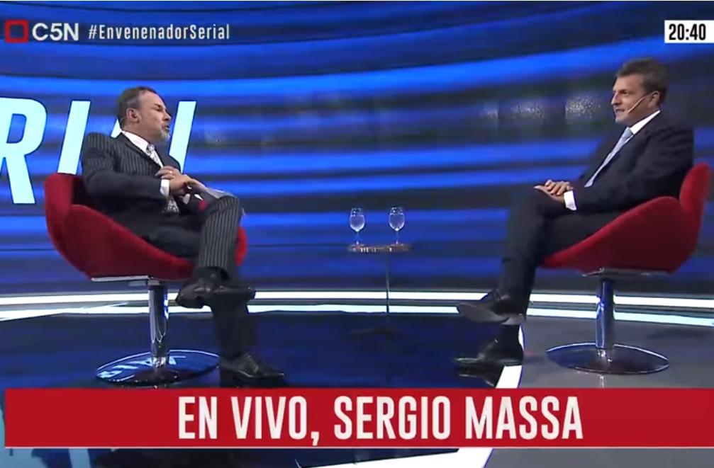Minuto Uno: La entrevista a Sergio Massa