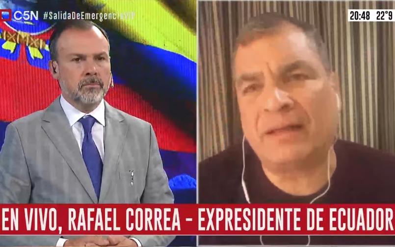 Minuto Uno: La entrevista a Rafael Correa