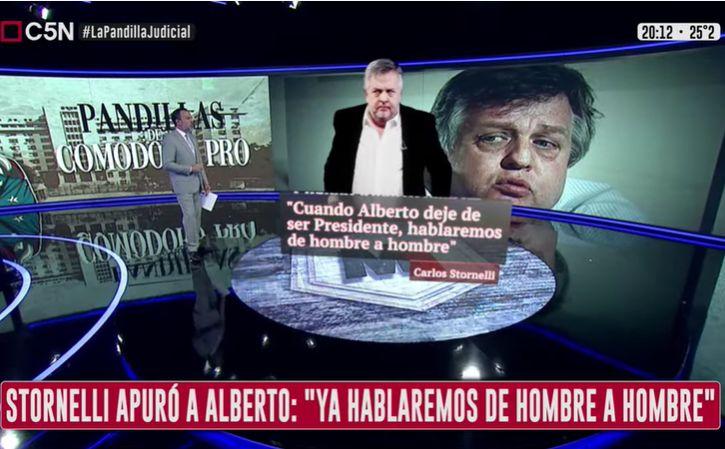 Minuto Uno: Stornelli apuró a Alberto