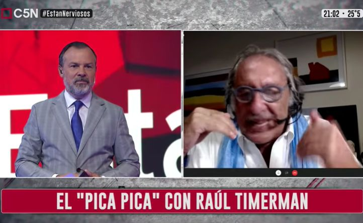 """Minuto Uno: El """"pica pica"""" con Raúl Timerman"""